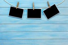 Free Blank Instant Photo Frames. Stock Photo - 120233140