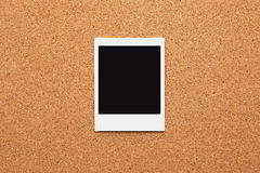 Blank instant photo frames Stock Photo