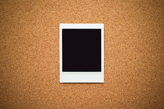 Blank instant photo frames Royalty Free Stock Images