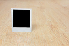 Blank instant photo Royalty Free Stock Image