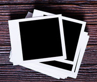 Blank instant photo Royalty Free Stock Photos
