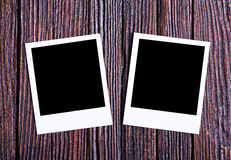 Blank instant photo Royalty Free Stock Photography