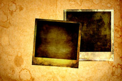 Blank instant photos. Stock Photography