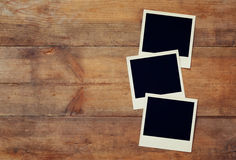 Free Blank Instant Photos Album. Ready To Put Images Stock Image - 71802851