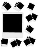 Blank Instant photos vector illustration Stock Photo