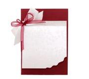 Blank invitation Royalty Free Stock Photos