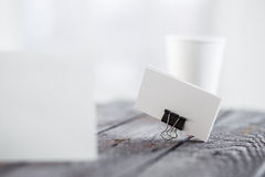 Blank invitation greetings card Royalty Free Stock Images