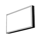 Blank isolated billboard Royalty Free Stock Images