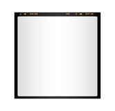 Blank isolated photo film Stock Images