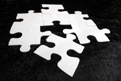 Blank jigsaw Royalty Free Stock Images