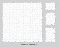 Blank jigsaw pieces Royalty Free Stock Photo