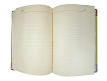 Blank Journal Royalty Free Stock Images