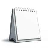 blank kalender royaltyfri illustrationer