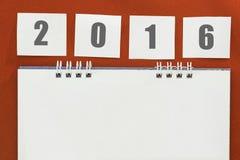 blank kalender Royaltyfri Fotografi