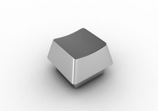 Blank Keyboard Button Royalty Free Stock Photo