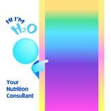 blank konsultanta ilustracyjny odżywiania target1414_0_ Fotografia Stock