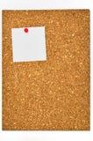 blank korkowe desek notatki Zdjęcia Royalty Free