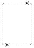 blank kupong Royaltyfri Fotografi