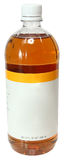 Blank Label Bottle Apple Cider Vinegar Royalty Free Stock Images