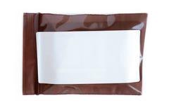 Blank label prescription sachet Royalty Free Stock Photo