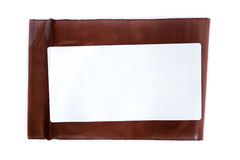 blank label prescription sachet Stock Image