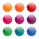 Blank  labels Royalty Free Stock Photos