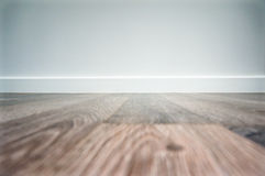 Blank laminate floor background Stock Image