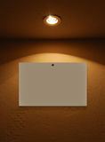 blank lamplampa Royaltyfria Bilder
