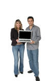 Blank Lap Top Screen Royalty Free Stock Images