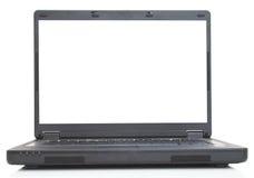Blank laptop royalty free stock photo
