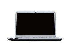 Blank laptop with clipping path Royalty Free Stock Photo