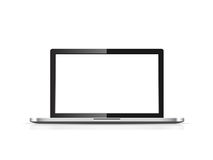 Blank laptop  Stock Images