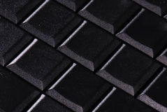 Blank laptop keyboard Stock Images