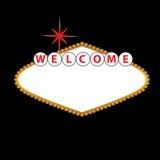 Blank Las Vegas Sign Stock Photo