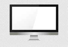 A blank LCD screen, plasma displays or TV to your design. A blank LCD screen, plasma displays or TV to your design Royalty Free Stock Images