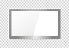 A blank LCD screen, plasma displays or TV to your design. A blank LCD screen, plasma displays or TV to your design Stock Photos