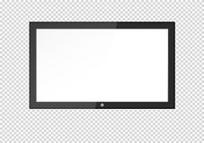 A blank LCD screen, plasma displays or TV to your design. A blank LCD screen, plasma displays or TV to your design Stock Photography