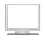Blank Lcd Television Royalty Free Stock Images