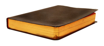 Blank Leather Book Royalty Free Stock Photo
