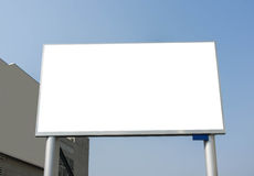 Blank LED Billboard Stock Image