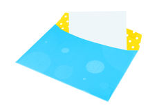 Blank letter envelope Stock Photography