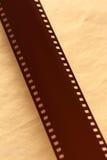 Blank light sensitive film Stock Photography