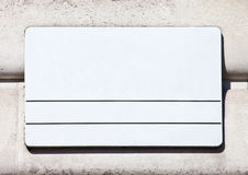 Blank London Street Sign. A blank London Street Sign Stock Photography