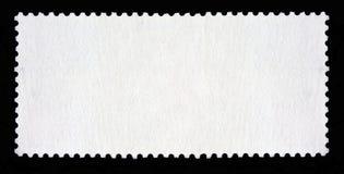 Blank long rectangular postage stamp Stock Photos