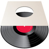 Blank LP cover Royalty Free Stock Photos