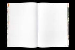 Blank magazine Stock Image