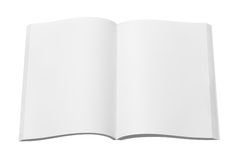 Blank magazine or book Royalty Free Stock Image