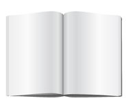 Blank magazine page. Vector illustration Royalty Free Stock Photo