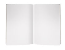 Blank Magazine Page Stock Photo