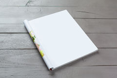 Blank Magazine pages. Close up Royalty Free Stock Photography